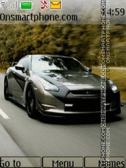 Nissan GT-R R35 theme screenshot