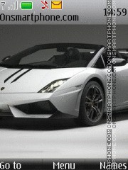 Lamborghini Gallardo LP570-4 Spyder Perf theme screenshot