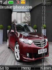 Honda Accord TYPE-S theme screenshot