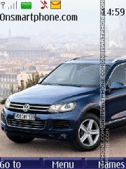 Volkswagen Touareg 2010-2011 theme screenshot