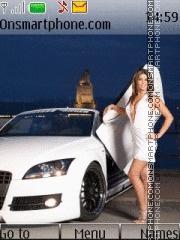 Скриншот темы White Audi R8