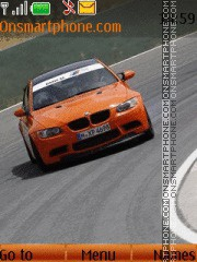 BMW M3 Orange theme screenshot