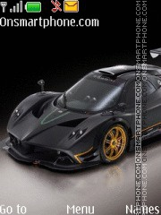Pagani Zonda 02 tema screenshot