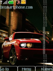 Скриншот темы Dodge Challenger With Tone