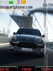 Porsche Cayenne Turbo 01 tema screenshot
