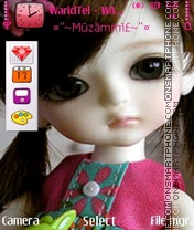Barbie Doll theme screenshot