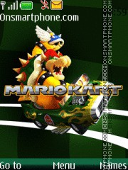 Mario Kart Wii 03 theme screenshot