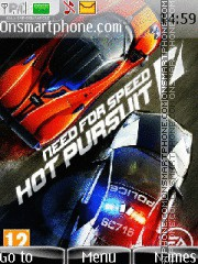 NFS Hot Pursuit 2010 theme screenshot