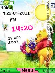 Winnie The Pooh 16 theme screenshot
