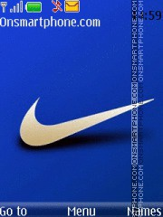 Nike With Tone theme screenshot