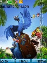 Rio 02 theme screenshot