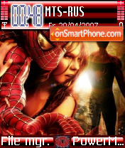 Spiderman 04 theme screenshot