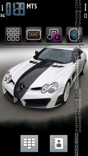 Mercedes 3258 theme screenshot
