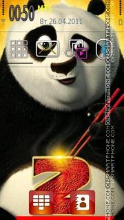 Kung Fu Panda 2 theme screenshot
