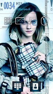 Emma Watson 26 theme screenshot