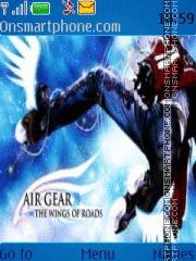 Air Gear 1 tema screenshot