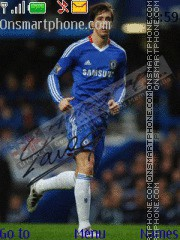Torres in chelsea theme screenshot