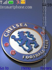 Chelsea fc theme screenshot