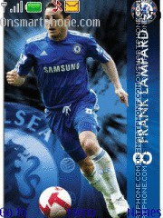 Frank Lampard theme screenshot