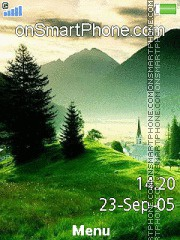 Green Nature 04 Theme-Screenshot