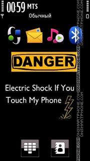 Electric Shock 01 es el tema de pantalla