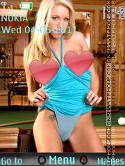 Sexy model131 theme screenshot