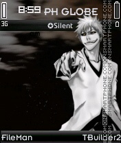 Hollow Ichigo Theme theme screenshot