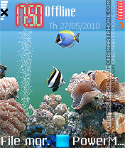 Marine Life 01 theme screenshot