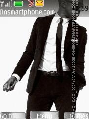Kanye West 01 theme screenshot