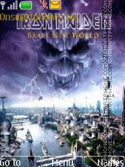 Iron Maiden Braw New World 2000 es el tema de pantalla