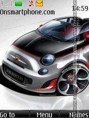 Fiat 500C Abarth theme screenshot
