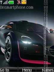 Citroen Survolt Concept theme screenshot