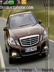 Mercedes e220 CDI theme screenshot