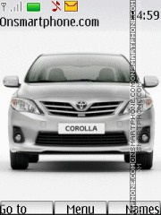 Toyota Corolla theme screenshot
