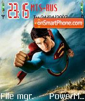 Superman Returns theme screenshot