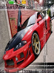 Mitsubishi Eclipse 01 theme screenshot