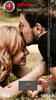 Couple Kiss es el tema de pantalla