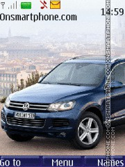 Volkswagen Touareg 2010 Theme-Screenshot