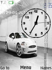 Jaguar XKR 02 theme screenshot