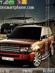 Land Rover Range Rover tema screenshot