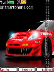 Porsche Cayman S 01 theme screenshot