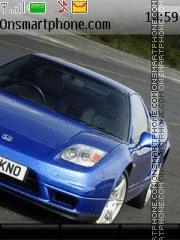 Honda NSX Type R theme screenshot
