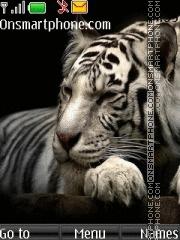 White Tiger 14 theme screenshot