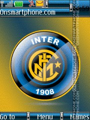 Inter 1908 theme screenshot