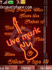 Music Is Life 04 theme screenshot