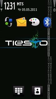 Tiesto 05 tema screenshot