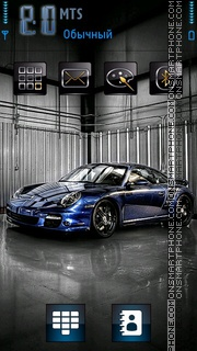 Porsche 04 theme screenshot