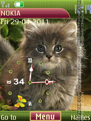 Kitten theme screenshot