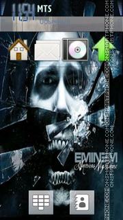Eminem es el tema de pantalla