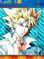 Hiruma! Commander of Hell YA HA! theme screenshot